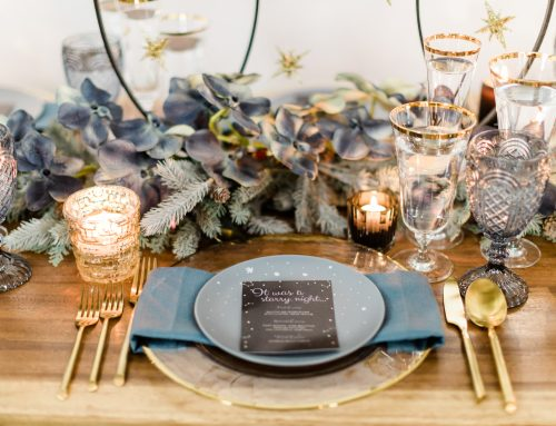 HOLIDAY TABLESCAPE: IT WAS A STARRY NIGHT….